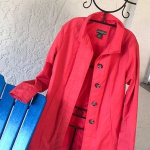 Eddie Bauer Spring Trench in Size Large